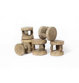 Authentic Dogon Peul stools from Zimbabwe