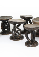 Authentic Tonga stool from Zimbabwe - Rare antique african ceremonial chair