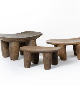 Authentic Senufo stools from Ivory Coast