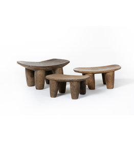 Authentic Senufo stools from Ivory Coast