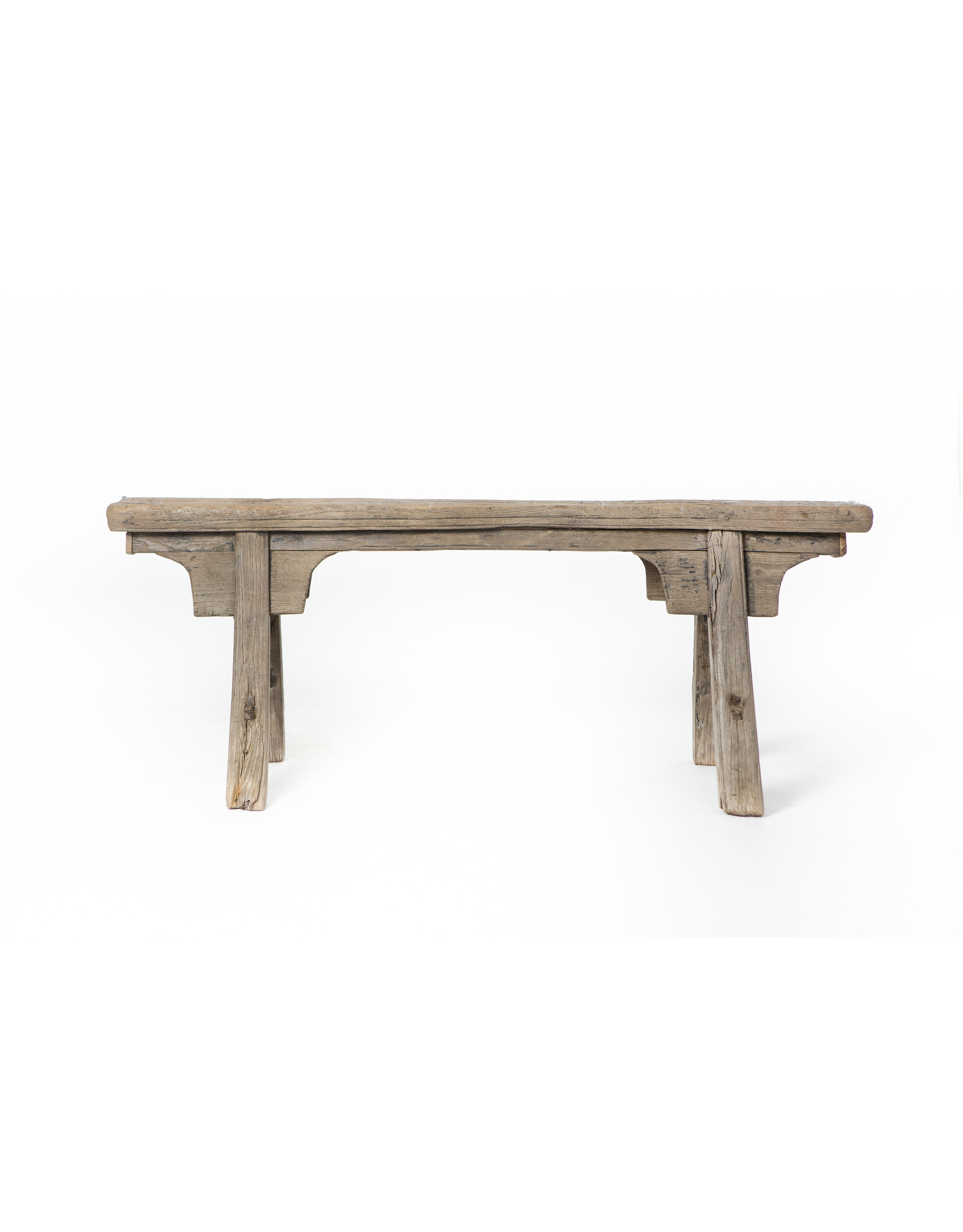 Antique Chinese wooden bench