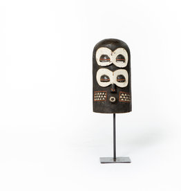 Unique large African Bembe Mask on stand