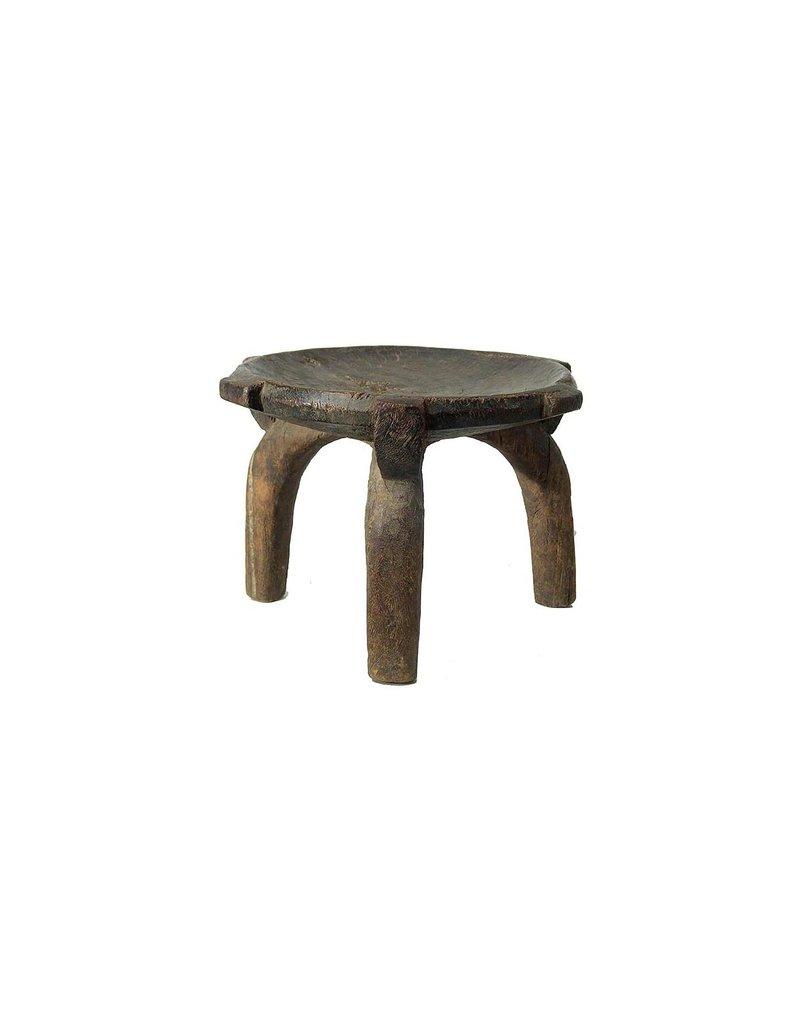 Originele HeHe kruk uit Tanzania  - Zeldzame  antieke Hehe  vintage kruk
