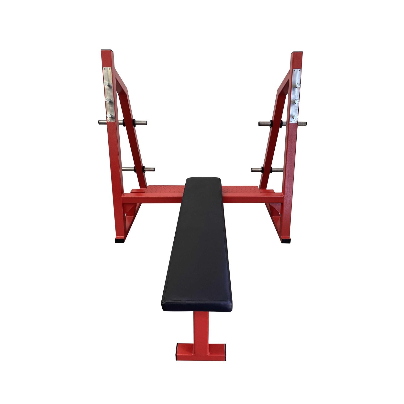 Olympic Bench Press Horizontal 1A