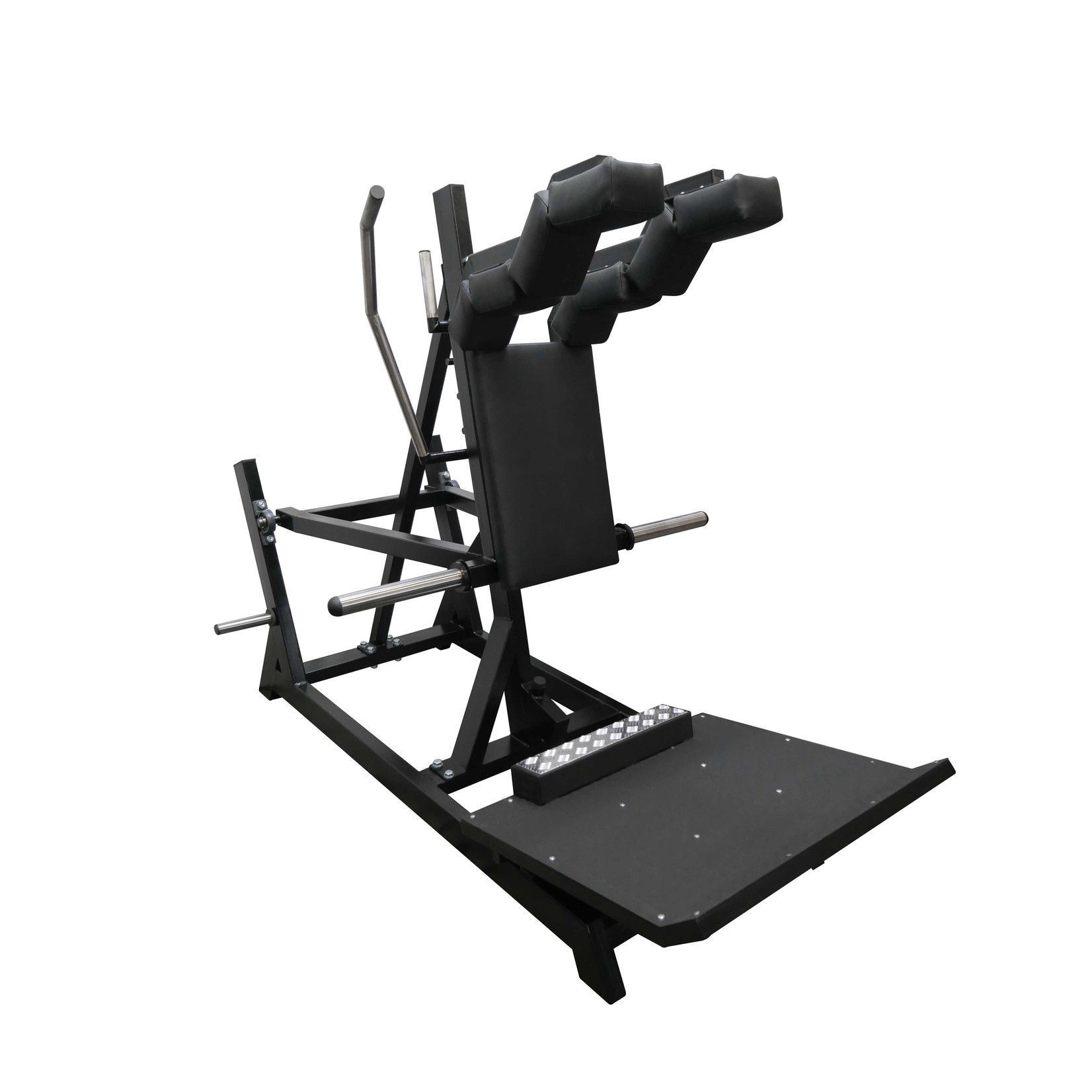 Front and Back Squat Machine 1R