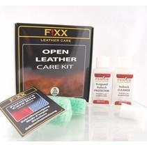 Kit d'entretien en cuir ouvert (cuir)