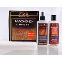 Kit de cuidado de madera para madera barnizada