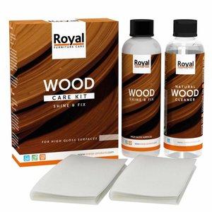 Oranje Shine & Fix Wood Care Kit + Cleaner 2x250ml