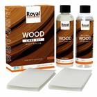 Oranje Kit d'entretien bois polonais mat + nettoyant 2x250ml