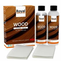 Elite Polish Wood Care Kit + Cleaner 2x250ml