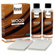 Waxoil Kit d'entretien du bois + Nettoyant 2x250ml