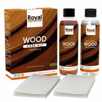 Greenfix Wood Care Kit + Cleaner 2x250ml