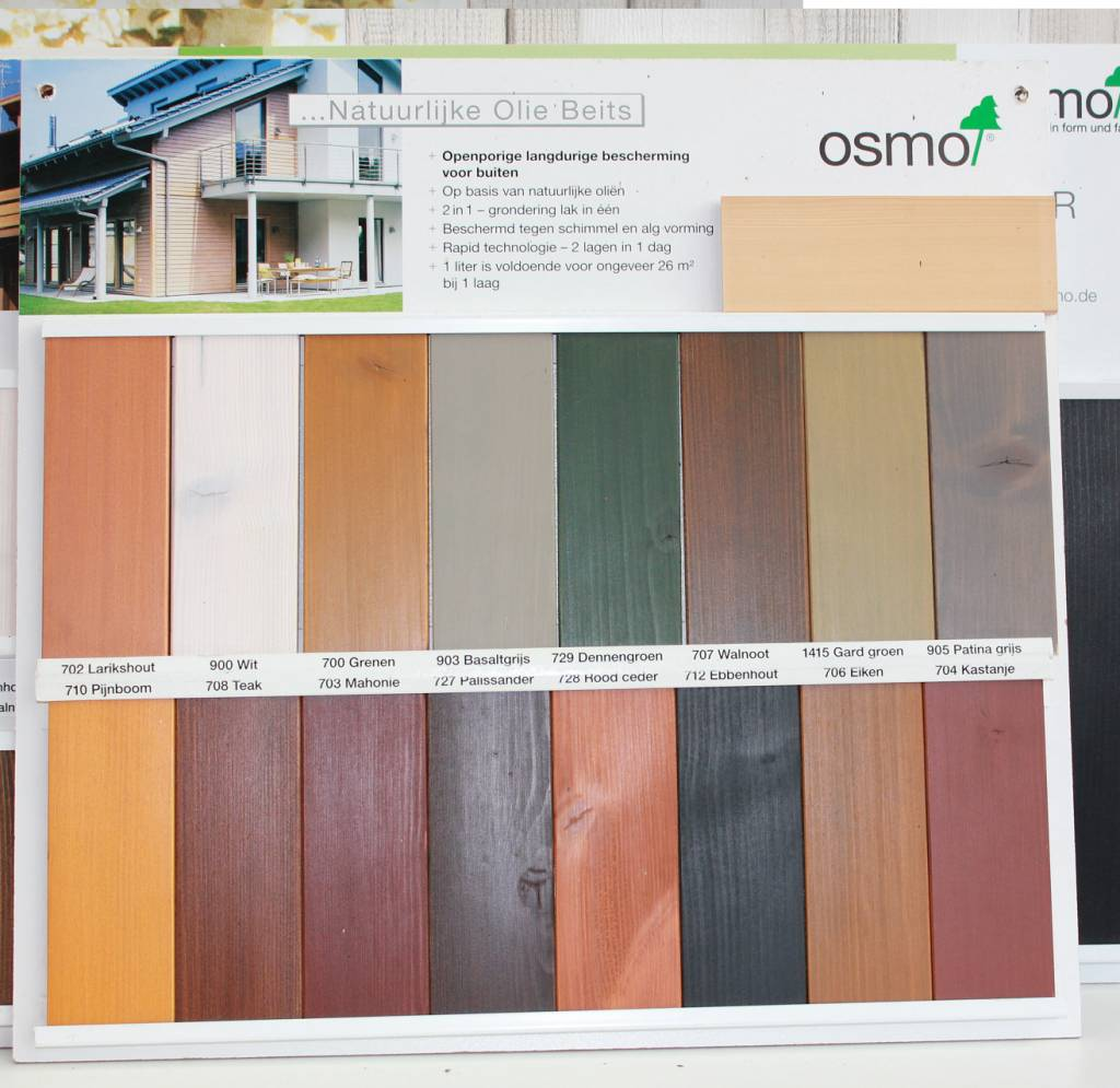 Osmo Natural Oil Stain 700 Series 903 Etc Parket Meer Nl