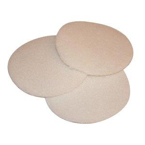 Tisa-Line BoenPads 6 inch voor meerschijfs boenmachine, Festool etc (Set van 3 stuks)