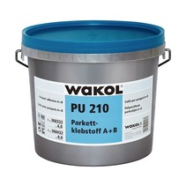 Adhesivo para parquet 2k PU 210 (6.9 kilo incl. Más duro)