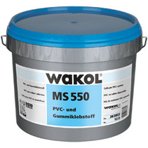 MS 550 Polímero adhesivo de caucho y PVC 7,5kg contenido