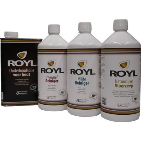 RigoStep (Royl) Royl Onderhoudsolie 9090 Naturel 1 Ltr