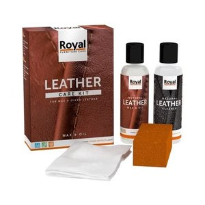 Oranje Leather Care Kit Wax and Oil (2x 150ml)