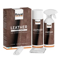 Microfiber Leather Care Kit (2x 500ml)