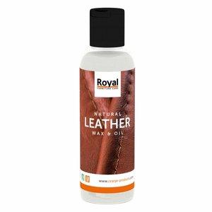 Oranje Natural Leather Wax en Oil (150ml)