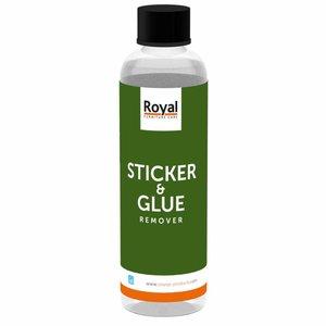 Oranje Sticker en Glue Remover