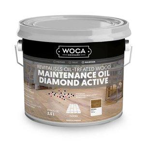 Woca Diamond Active Huile de maintenance WHITE 2,5 Ltr
