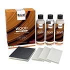 Oranje Kit de cuidado de sellador de madera natural 3x250ml NUEVO