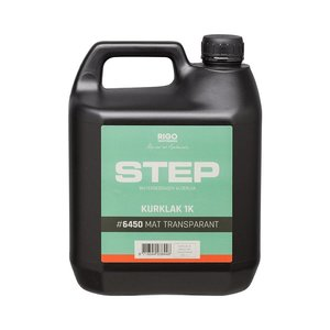 RigoStep STEP 1k KURK Lak (MAT of SATIJN en 1 of 4 liter klik hier)