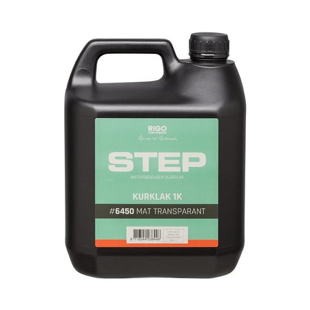 RigoStep (Royl) STEP 1k CORK Lacquer (MAT or SATIN and 1 or 4 liters click here)