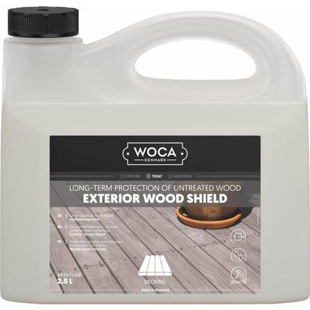 Woca Escudo de madera exterior de 2.5 litros