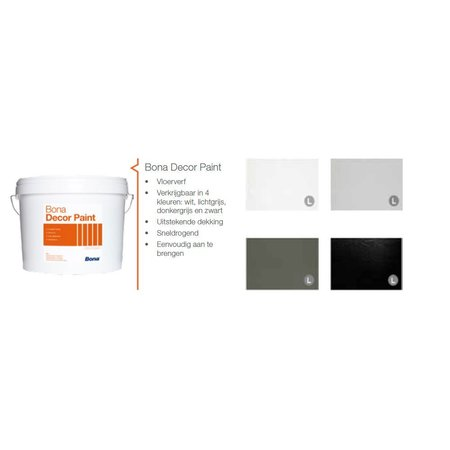 Bona Decor Paint 5 Liter