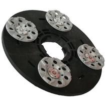 Rondelle de roue diamant 4x125mm (complet, adaptateur inclus)
