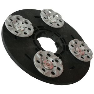 Numatic Diamond wheel washer 4x125mm (complete incl. Adapter)