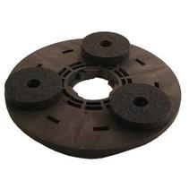 Aandrijfschijf met 3 Carborundum Stenen(Compleet incl. adapter)