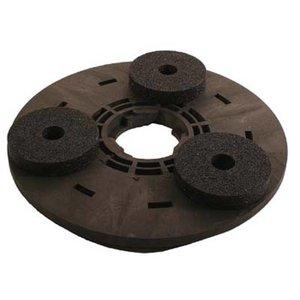 Numatic Aandrijfschijf met 3 Carborundum Stenen(Compleet incl. adapter)