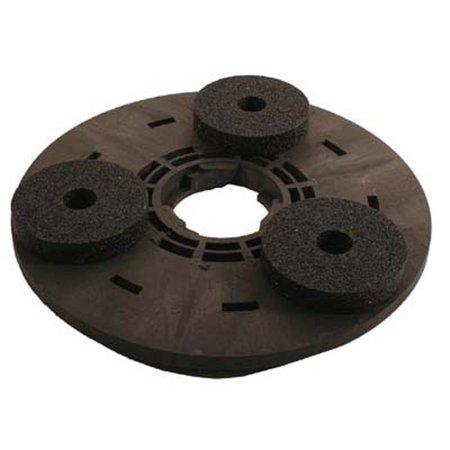 Numatic Disque d'entraînement avec 3 pierres de carborundum (complet, adaptateur inclus)