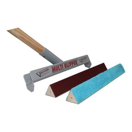 Tisa-Line Base triangulaire avec toile abrasive pour Multi Glipper