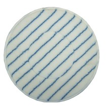 Micro fiber pad with blue stripe