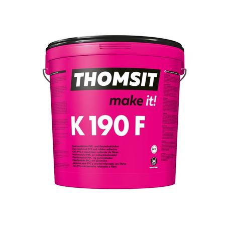 Thomsit K190F Adhesivo de PVC y caucho reforzado con fibra 13 kg
