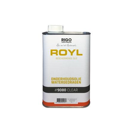 RigoStep (Royl) Huile d'entretien Royl 9080 à base d'eau, 1 litre