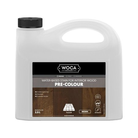 Woca Pre Color (Impregnation Stain) BROWN 2.5 Ltr