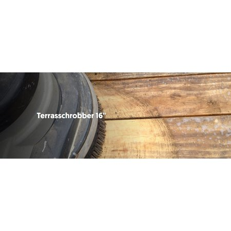 Woca Terrace Scrub Brush (for 16 inch polisher)