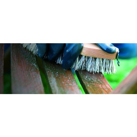 Woca Terrace Scrubber with handle