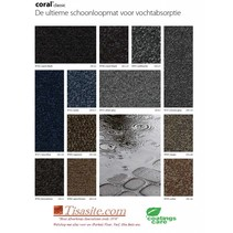 Coral Classic cleaning mat