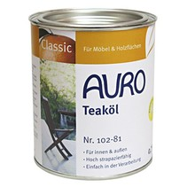 102 Garden furniture oil 0.75 ltr (click here for colors)