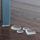 Tisa-Line Anti Slip Pads Square 25x25mm (rubber)