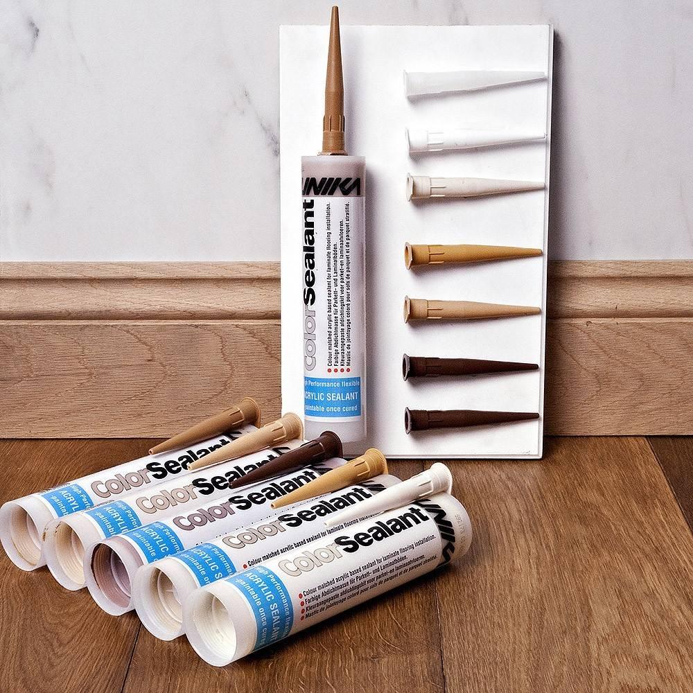 Tisa Line Color Sealant Repair Kit For Laminate And Wood