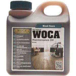 Woca Maintenance oil BROWN 1 Ltr NEW!
