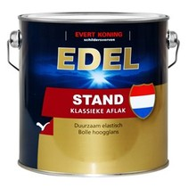 Edel Stand Klassieke Aflak (WIT of KLEUR) (klik voor inhoud)