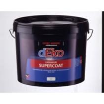 Deko Supercoat Exterieur muurverf WIT (klik hier voor de inhoud)